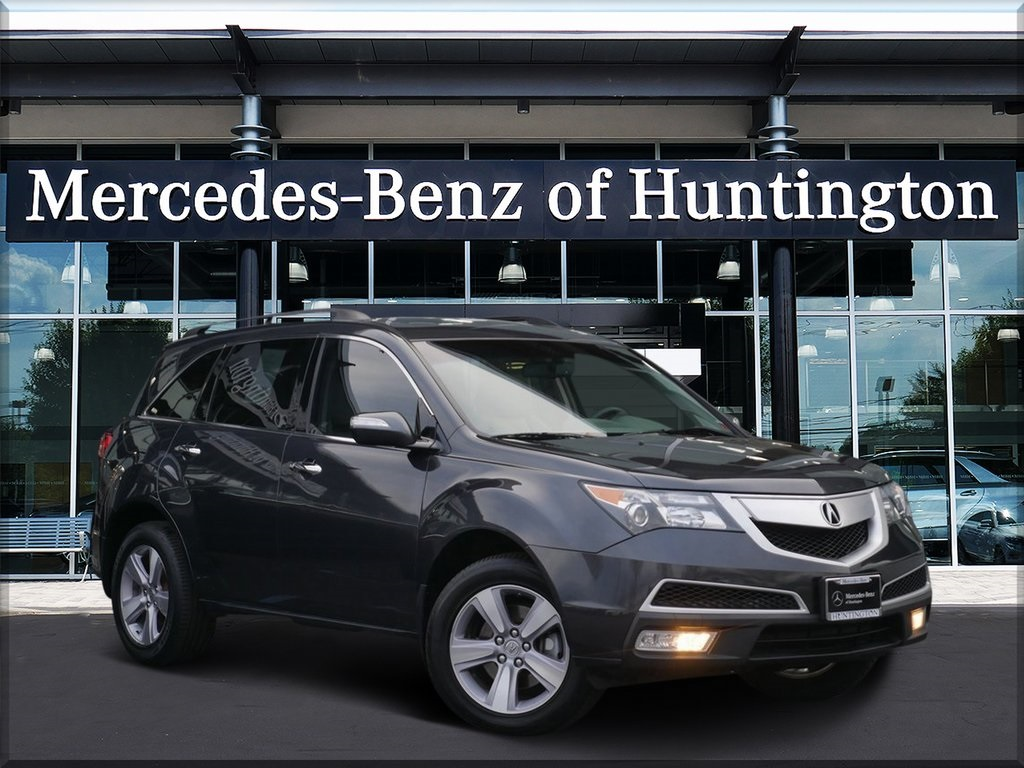 Pre-Owned 2013 Acura MDX Technology With Navigation & AWD