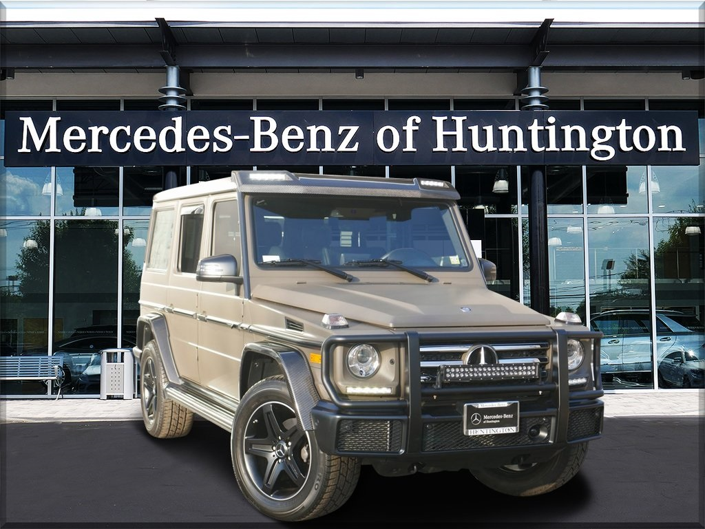 Pre-Owned 2017 Mercedes-Benz G 550 AWD 4MATIC®