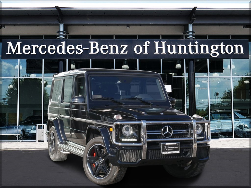Certified Pre-Owned 2017 Mercedes-Benz G-Class G63 AMG®