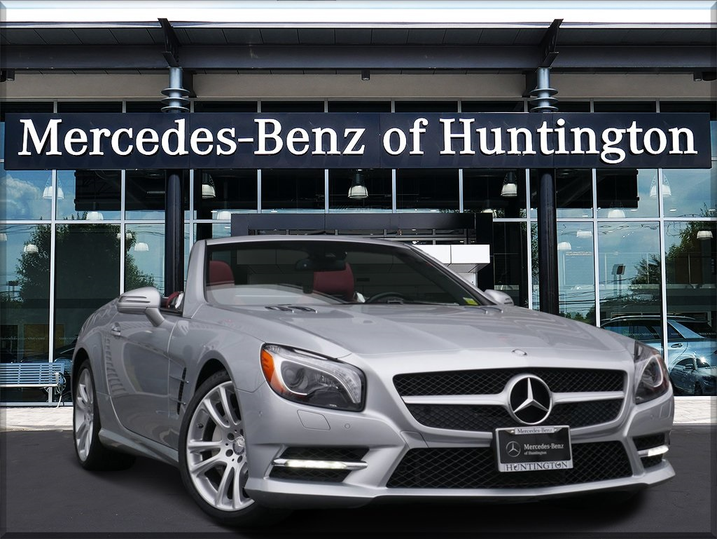 Certified Pre-Owned 2016 Mercedes-Benz SL-Class SL 400 Roadster