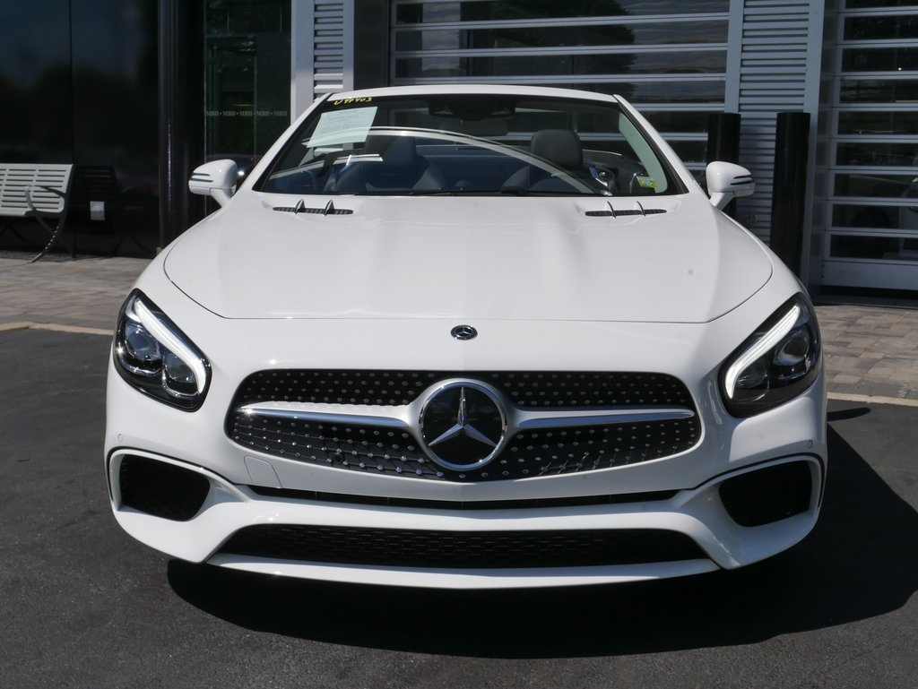 Pre-Owned 2018 Mercedes-Benz SL-Class SL 450