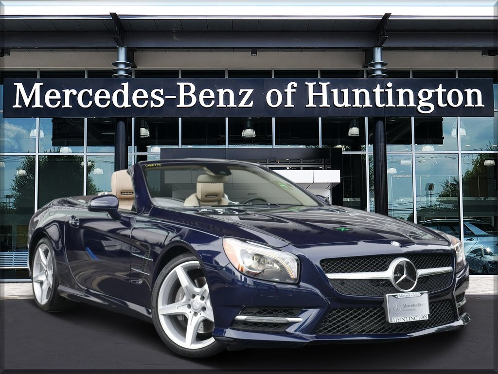 Certified Pre Owned 2016 Mercedes Benz SL Class SL 550