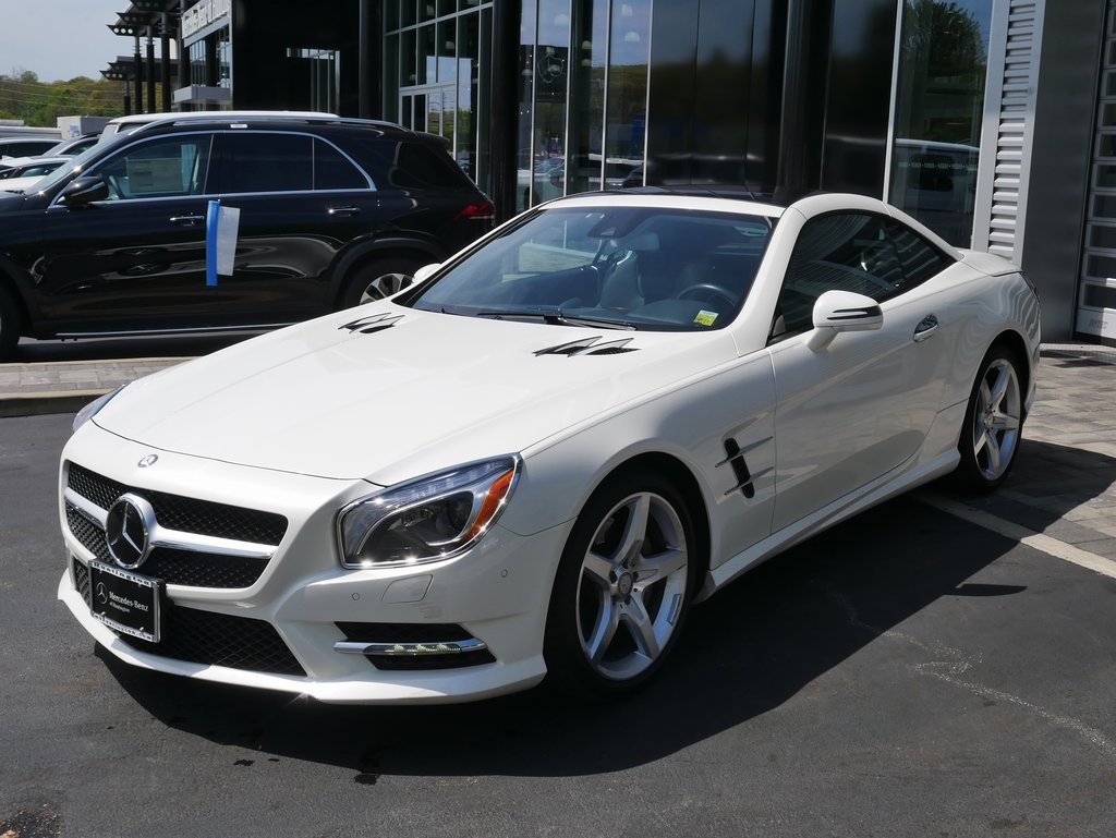 Certified Pre-Owned 2016 Mercedes-Benz SL-Class SL 550