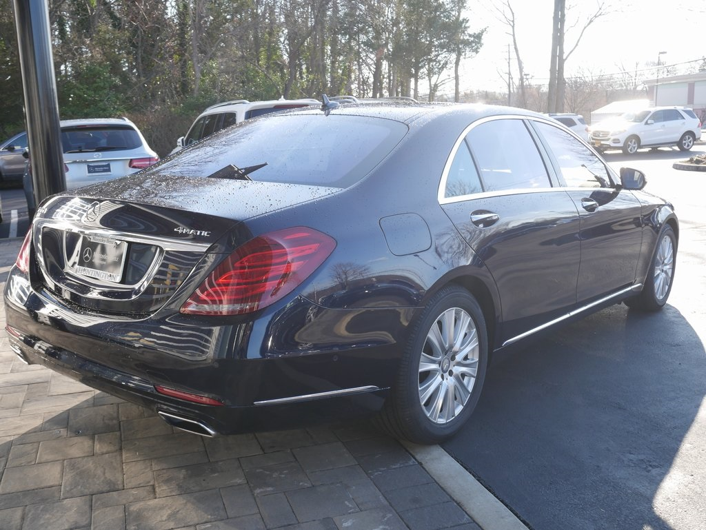 Certified Pre-Owned 2015 Mercedes-Benz S-Class S 550