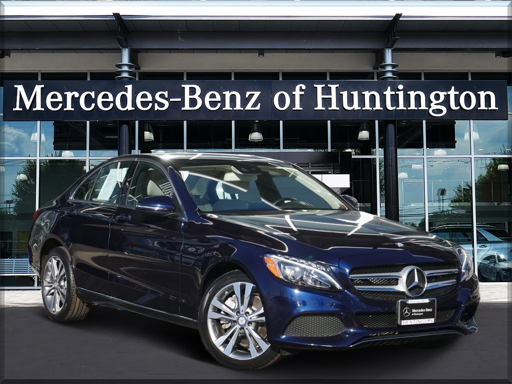 Certified Pre-Owned 2017 Mercedes-Benz C 300 AWD 4MATIC®